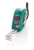 Measuring tape for tool roulette Stock Images