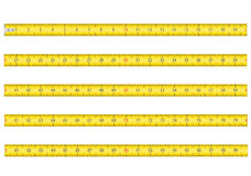 Measuring tape for tool roulette vector illustrati Royalty Free Stock Photos