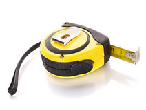 Measuring tape for tool roulette Royalty Free Stock Image