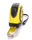 Measuring tape for tool roulette Royalty Free Stock Images