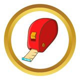 Measuring tape vector icon Royalty Free Stock Photo