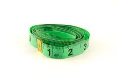 Measuring tape on white background Stock Photos