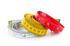 Measuring Tapes Royalty Free Stock Photography