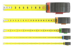 Measuring tapes, 3D rendering Royalty Free Stock Photography