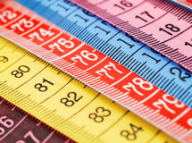 Measuring Tapes Royalty Free Stock Photos