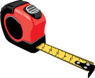 Measuring tapes Stock Photography