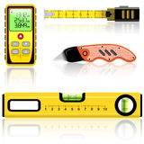 Measuring tool Royalty Free Stock Images