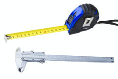 Measuring tools Royalty Free Stock Photo