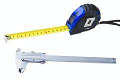 Measuring tools Royalty Free Stock Photo