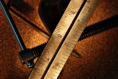 Measuring tools stock images