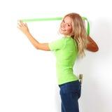 Measuring wall Stock Photos