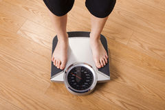 Measuring Weight Royalty Free Stock Photo