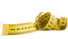 Measuring Yellow Tape Royalty Free Stock Photo