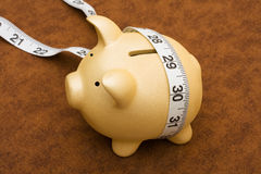 Measuring your savings Stock Images