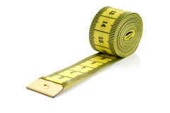 Measurment tape Stock Images
