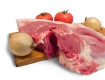 Meat är pork royaltyfri bild