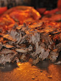 Meat. Authentic Turkish doner kebab and grill royalty free stock images