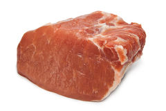 Meat. Fresh raw pork steak meat Stock Photography