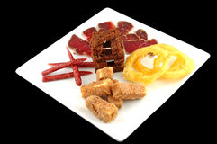 Meat allsorts Stock Photography