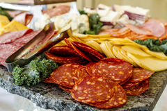 Free Meat And Cheese Party Tray Stock Photo - 89779240
