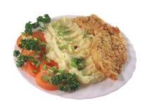 Free Meat And Stirred Potato Stock Photo - 6355720