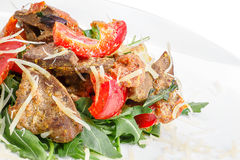 Meat appetizer Royalty Free Stock Image