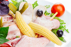 Meat appetizer Stock Photo
