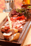 Meat appetizers Stock Images