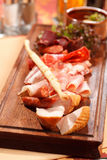Meat appetizers Royalty Free Stock Image