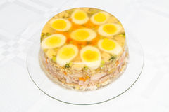 Meat in aspic Royalty Free Stock Photo