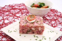 Meat in aspic Royalty Free Stock Image