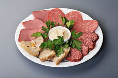 Meat assorti Stock Image