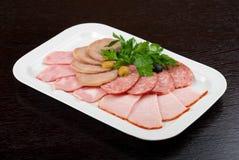 Meat assortment Royalty Free Stock Photos