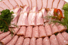 Meat assortment Stock Photography