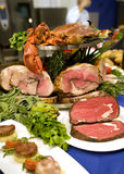 Meat assortment Stock Images