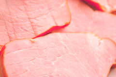 Meat backgrond. Close up of the sliced meat for the background Stock Photos