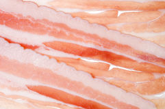 Meat bacon food background Stock Photo