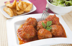 Meat ball Royalty Free Stock Photo