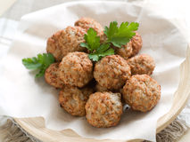 Meat ball Royalty Free Stock Photography