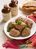 Meat ball Stock Images