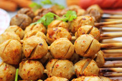 Meat ball for sale a wide range. Royalty Free Stock Photos