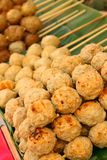 Meat ball for sale a wide range. Royalty Free Stock Photography