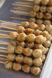 Meat ball. Thai Style grilled Beef Ball with sweet and sour sauce Stock Image