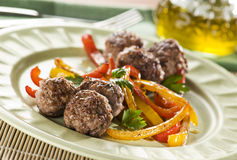 Meat balls Stock Images