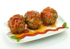 Meat balls Stock Photography