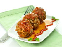 Meat balls Stock Image