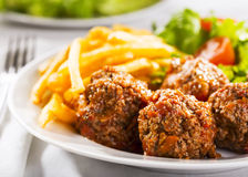 Meat balls Royalty Free Stock Image