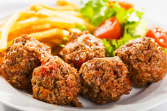 Meat balls Royalty Free Stock Images