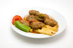 Meat balls Royalty Free Stock Photos