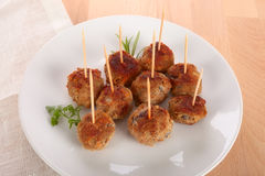 Free Meat Balls Royalty Free Stock Photo - 48299615